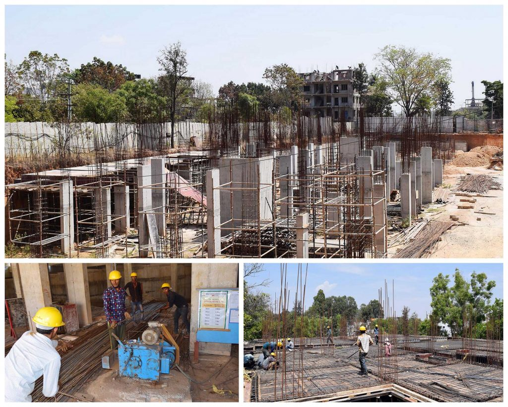 Project progress on March 2019